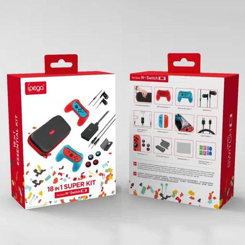 Kit de acessórios para Nintendo Switch
