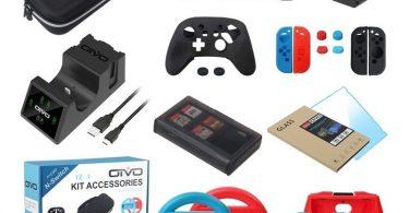 Melhores acessórios para Nintendo Switch