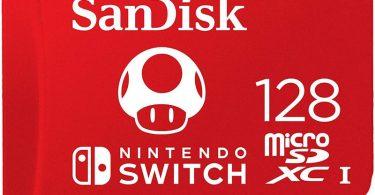 Cartão SD para Nintendo Switch