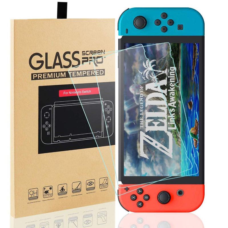 Película de vidro para Nintendo Switch